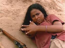 Seema Biswas as Phoolan Devi in Bandit Queen, Directed by Shekhar Kapur