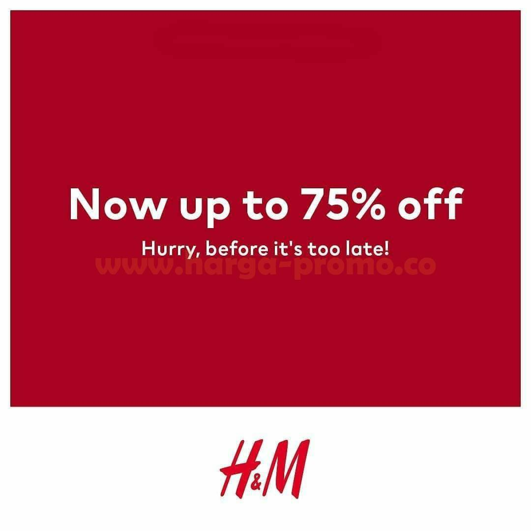 Promo H&M End Of Season Sale – Disc. Up To 75% Off