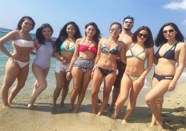 Bubble Gang Summer Special at the Blue Coral Resort Photo Shoot