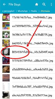 cara menyimpan foto atau video di whatsapp