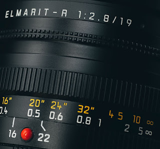 LEICA ELMARIT-R 19 mm f/2.8 Typography