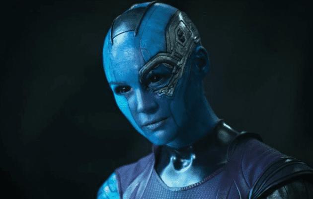 Karen Gillan berperan sebagai Nebula - Pemeran Guardians of the Galaxy Vol. 2