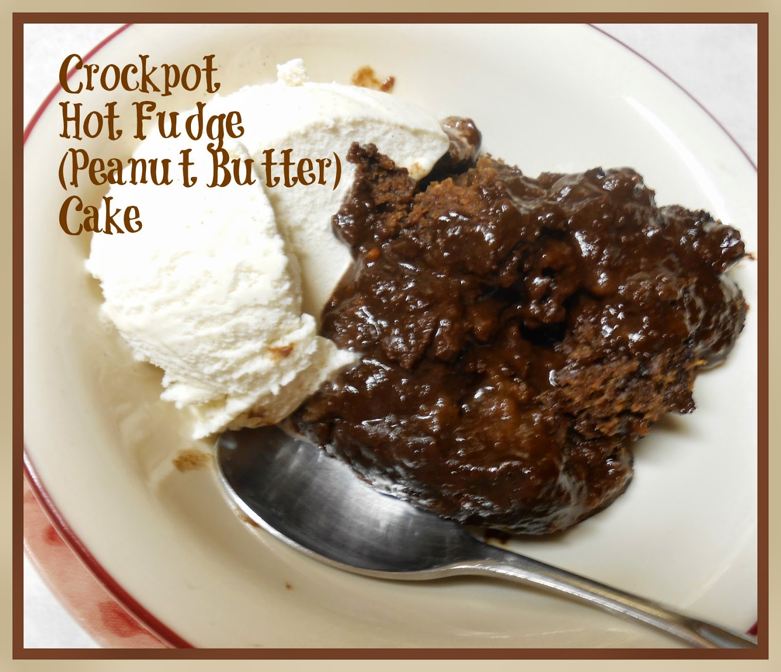 Crockpot Hot Fudge Peanut Butter
