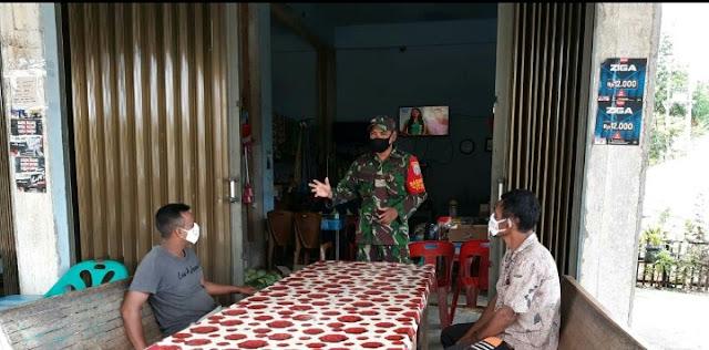 Serda Juliansyah Sosialisasikan PPKM Mikro Hingga Ke Pelosok Desa