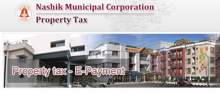 nmc property tax online payment nashik