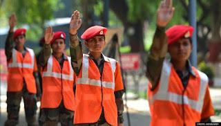 Women Military Police