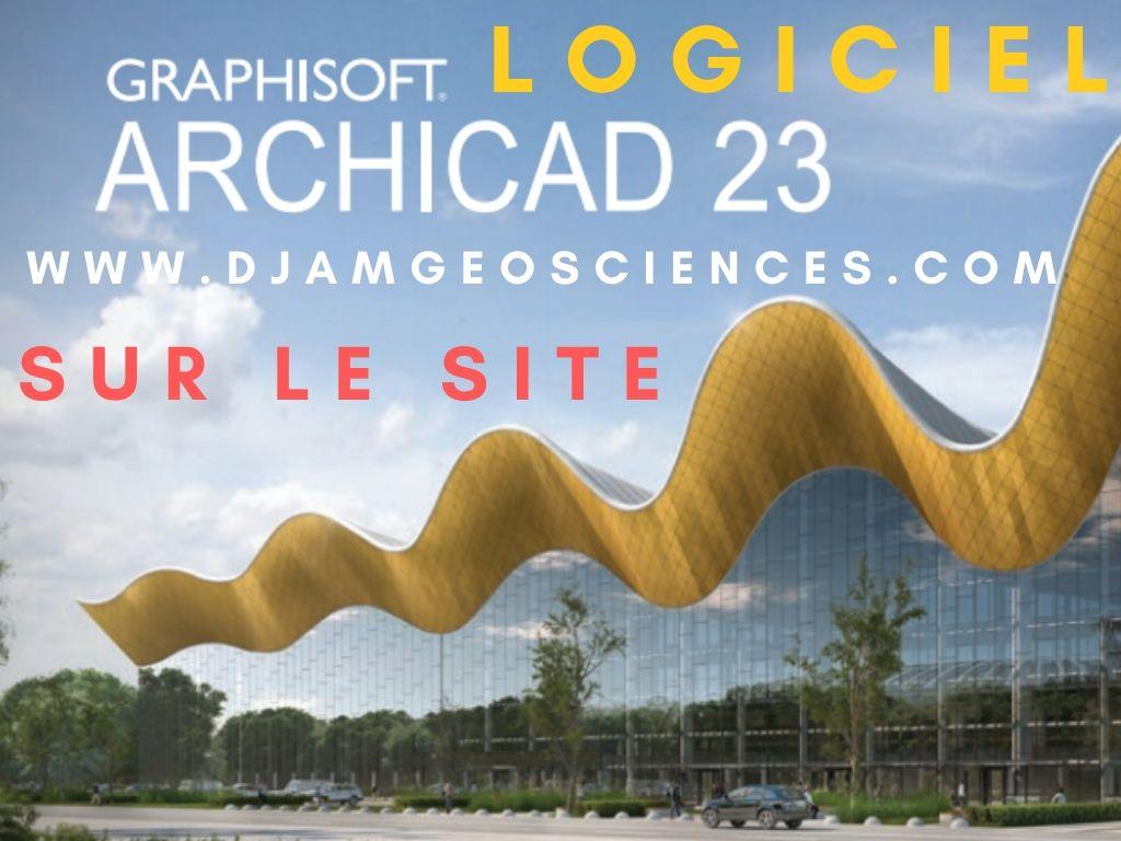 TÉLÉCHARGER LE LOGICIEL ARCHICAD 23 COMPLET+KEY GRATUIT