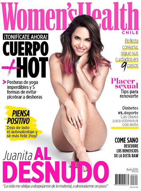 Juanita Ringeling - Women's Health Chile, June 2016