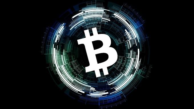 Plano de Fundo Logo Bitcoin