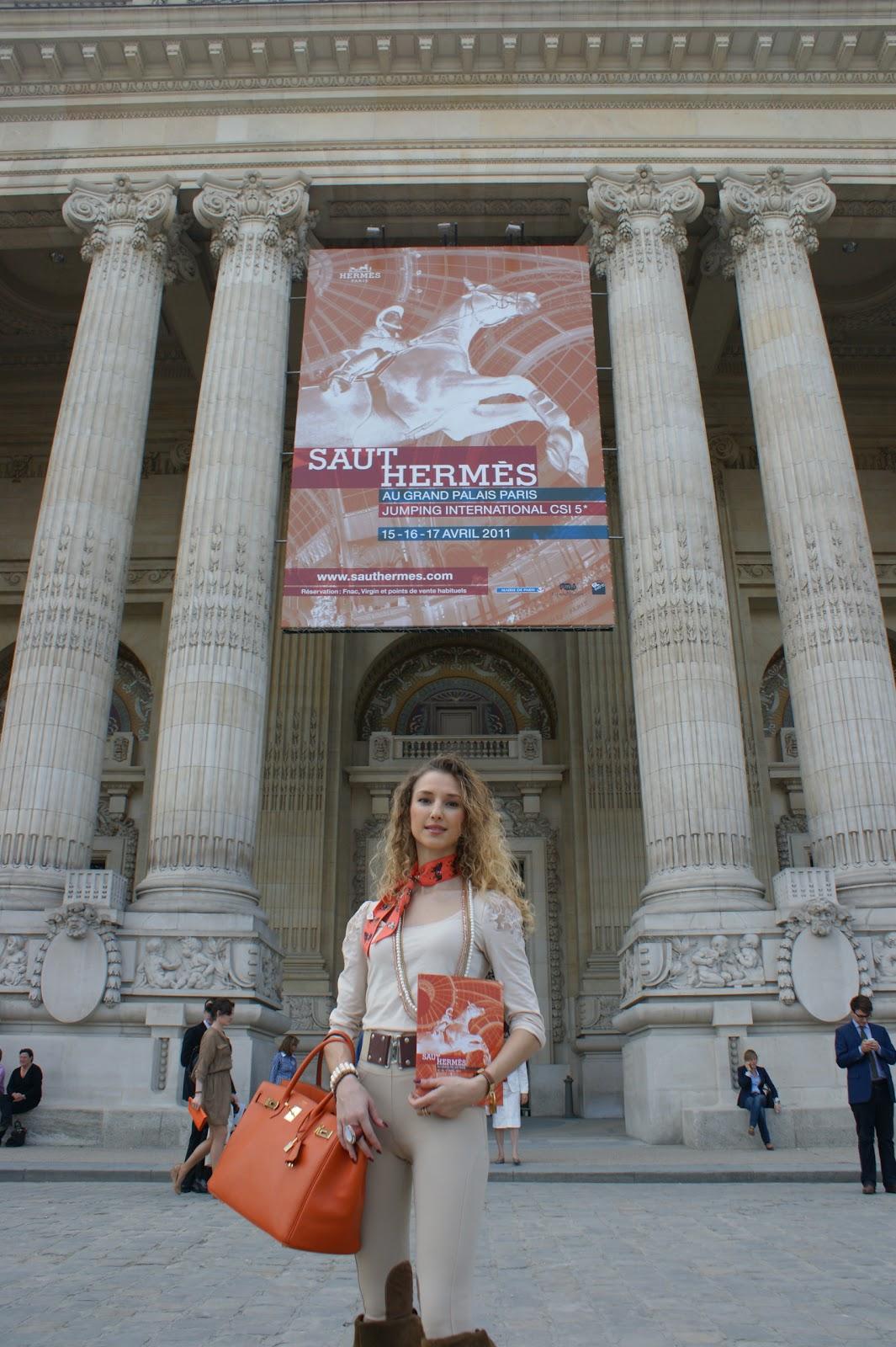SAUT HERMES Au Grand Palais, Paris