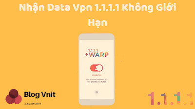 The free app that boost your Warp + free data 1.1.1.1