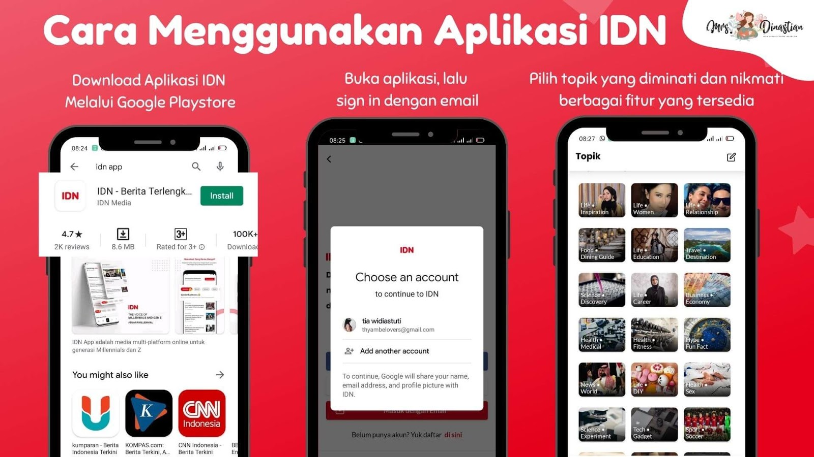 Cara Menggunakan IDN App