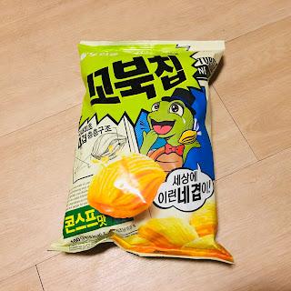 jajanan korea, snack jagung korea