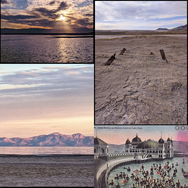 Treasure Hunt at the Great Salt Lake to find remains of Saltair 1 and 2