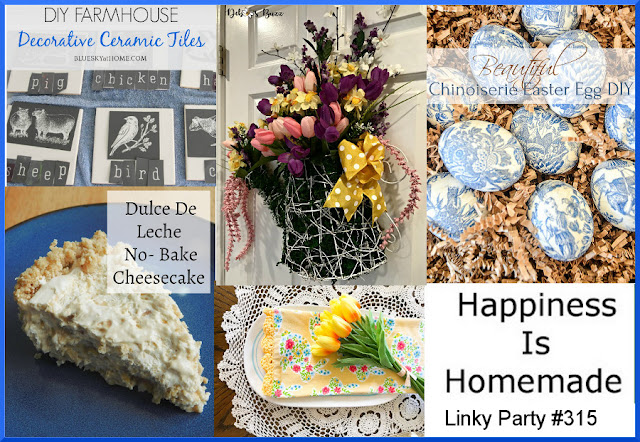 Happiness Is Homemade. Share NOW.#linkyparty #HIH #happinessishomemade #linkyparty #eclecticredbarn