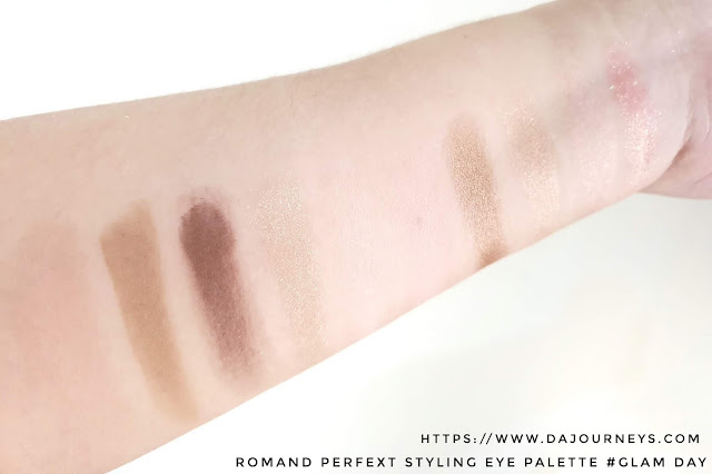 [Review] Romand Perfect Styling Eye Palette Glam Day