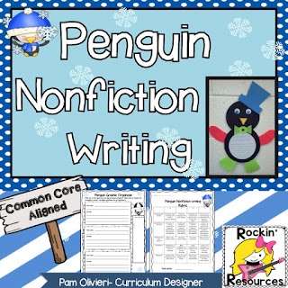 informative writing penguins