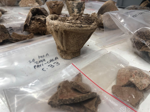 Intact deposit of prehistoric funerary vessels found in Minorca