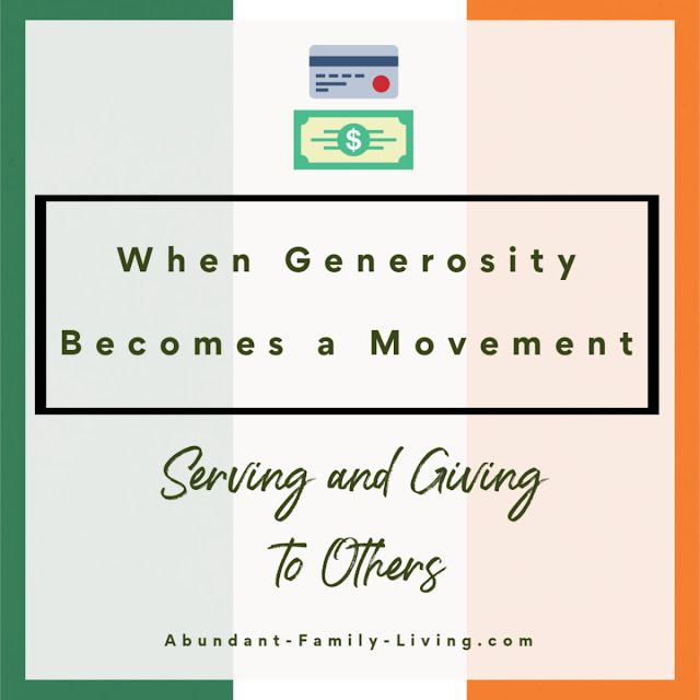 When Generosity Becomes a Movement