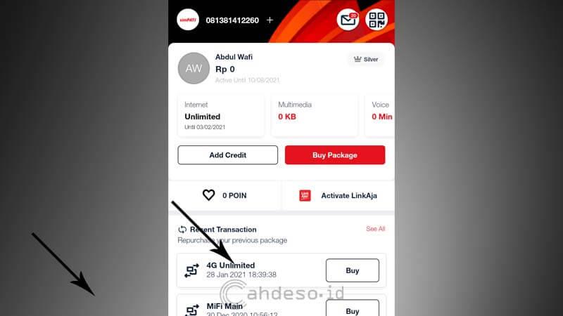 Cara Aktifkan Paket 4G Unlimited Telkomsel