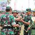 Dandim 0703/Cilacap Secara Resmi Menutup Kegiatan TMMD Sengkuyung II di Desa Cimrutu