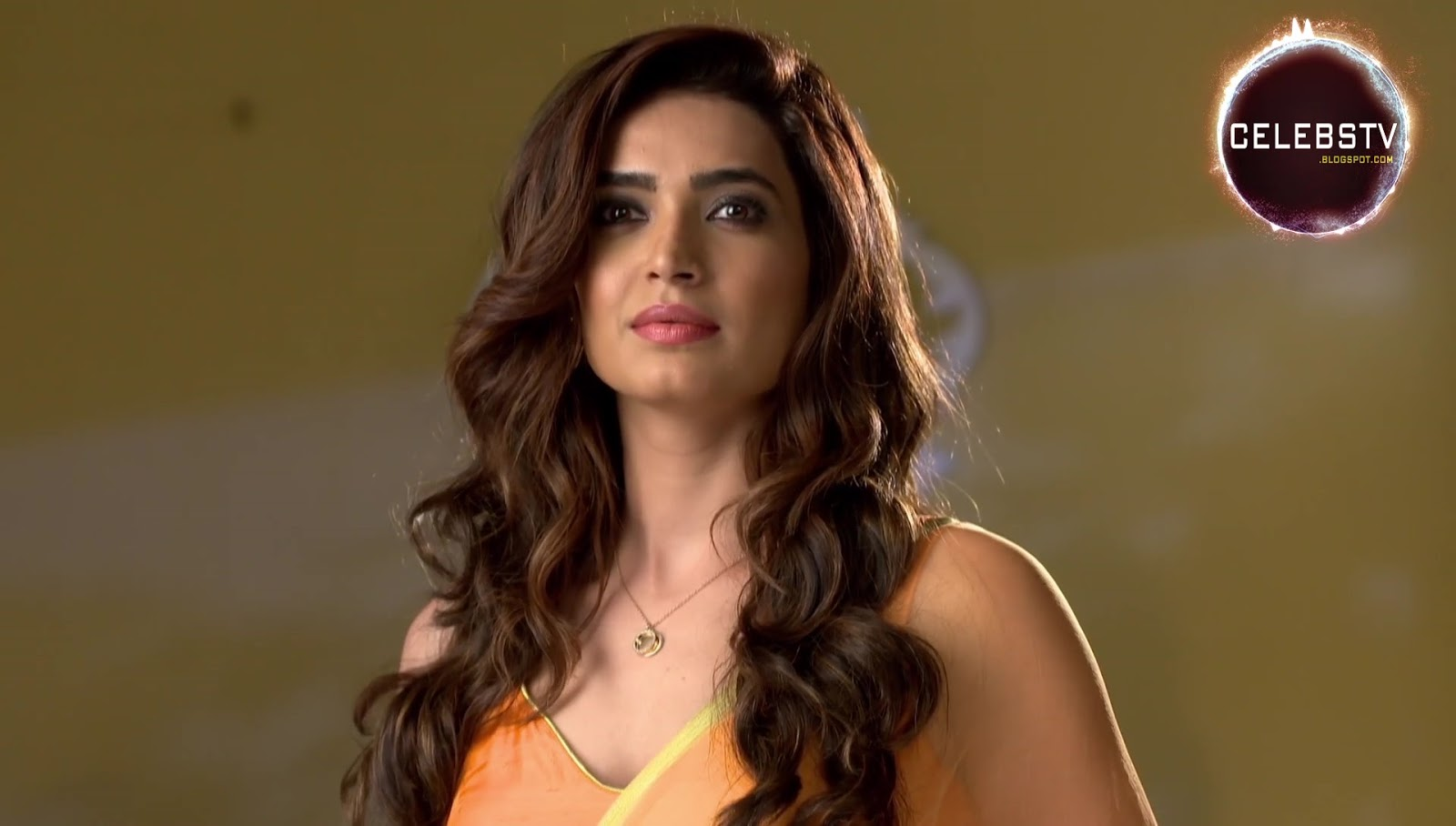 Tv Actress Karishma Tanna Hot Bare Navel Show - Sexy -5856