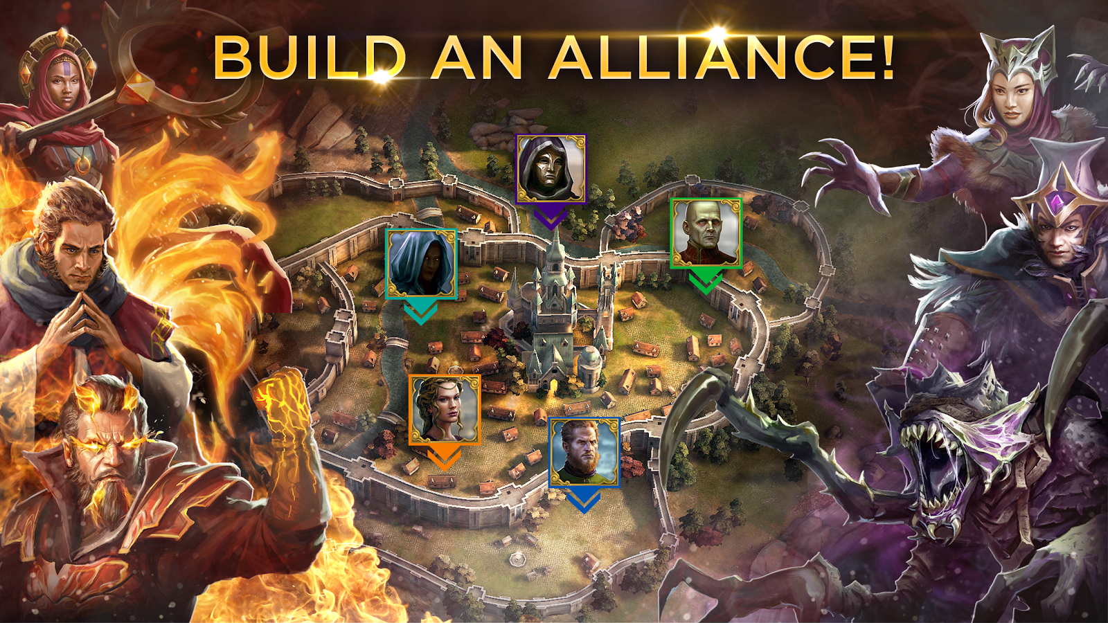 Rival Kingdoms MOD APK Terbaru Update Latest Version Free Download