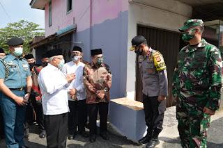 Kasdam III/Siliwangi Sambut Kedatangan Wakil Presiden RI di Kota Sukabumi