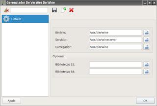 Q4Wine utilize no ambiente gráfico Lxqt