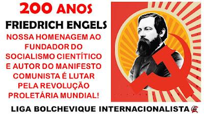 ESPECIAL: 200 ANOS DO NASCIMENTO DE ENGELS
