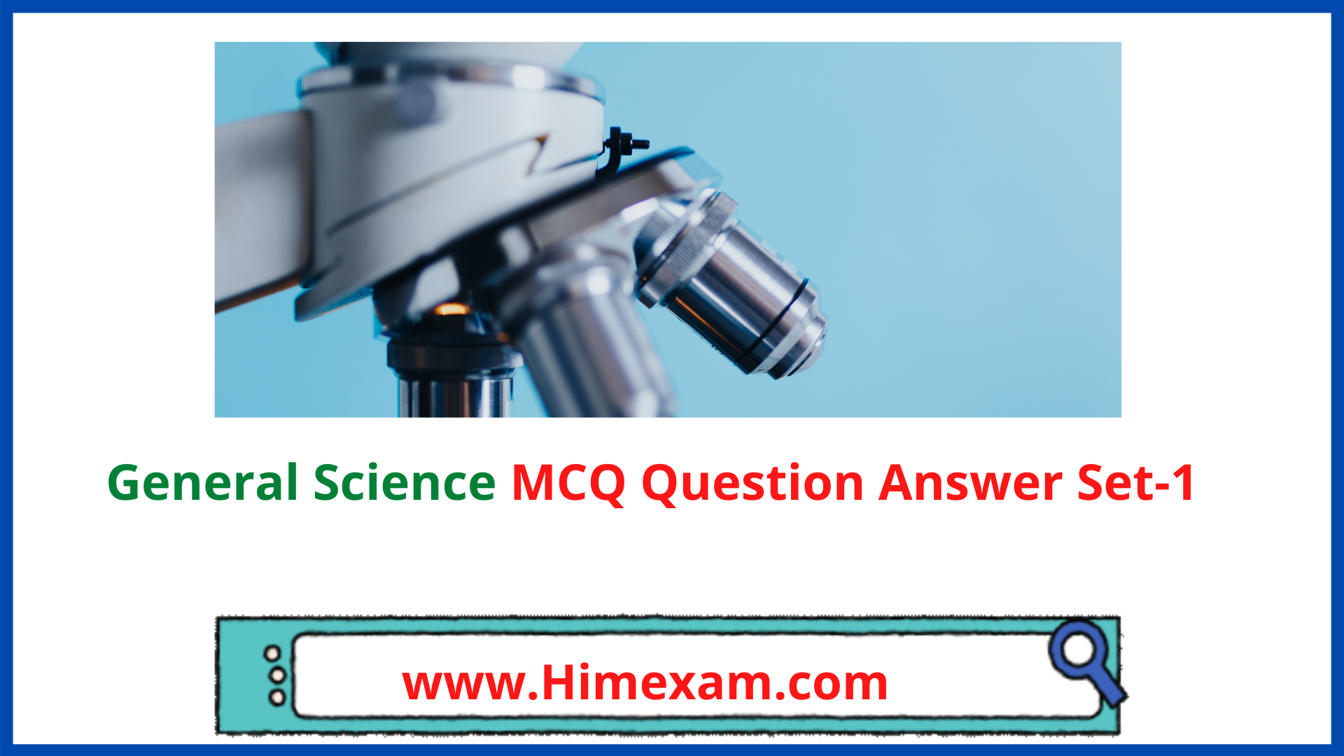 General Science MCQ Question Answer Set-1