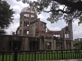 la cupola del duomo di Hiroshima