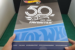 Unboxing HOT WHEELS  Favorites 50th - With Special Car 55 Bel Air Gasser - Hot wheels indonesia