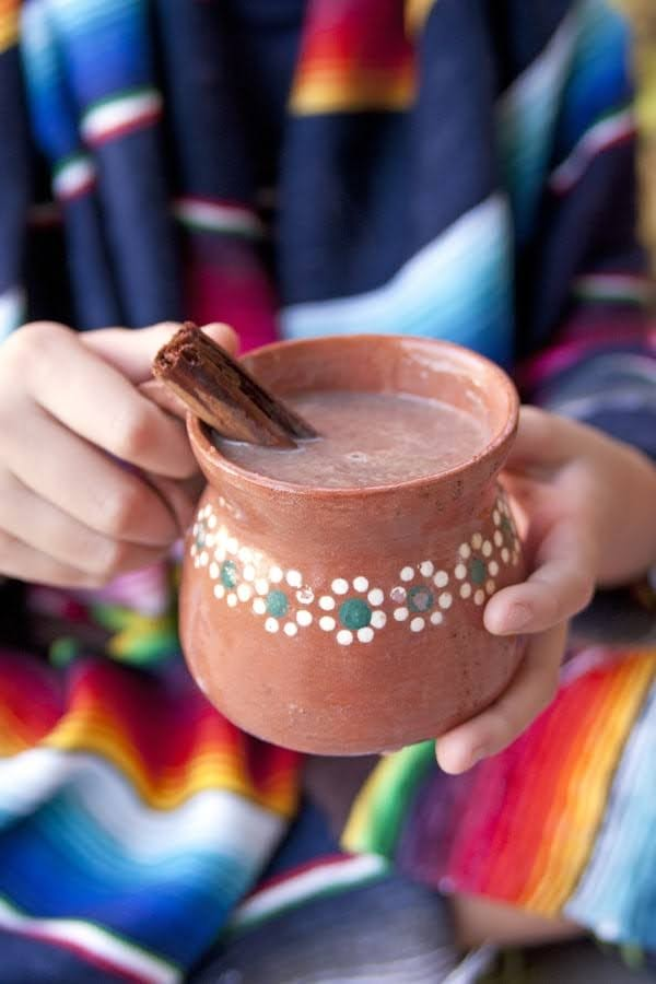 Mexican Hot Chocolate | Photo Courtesy of Muy Bueno Cookbook