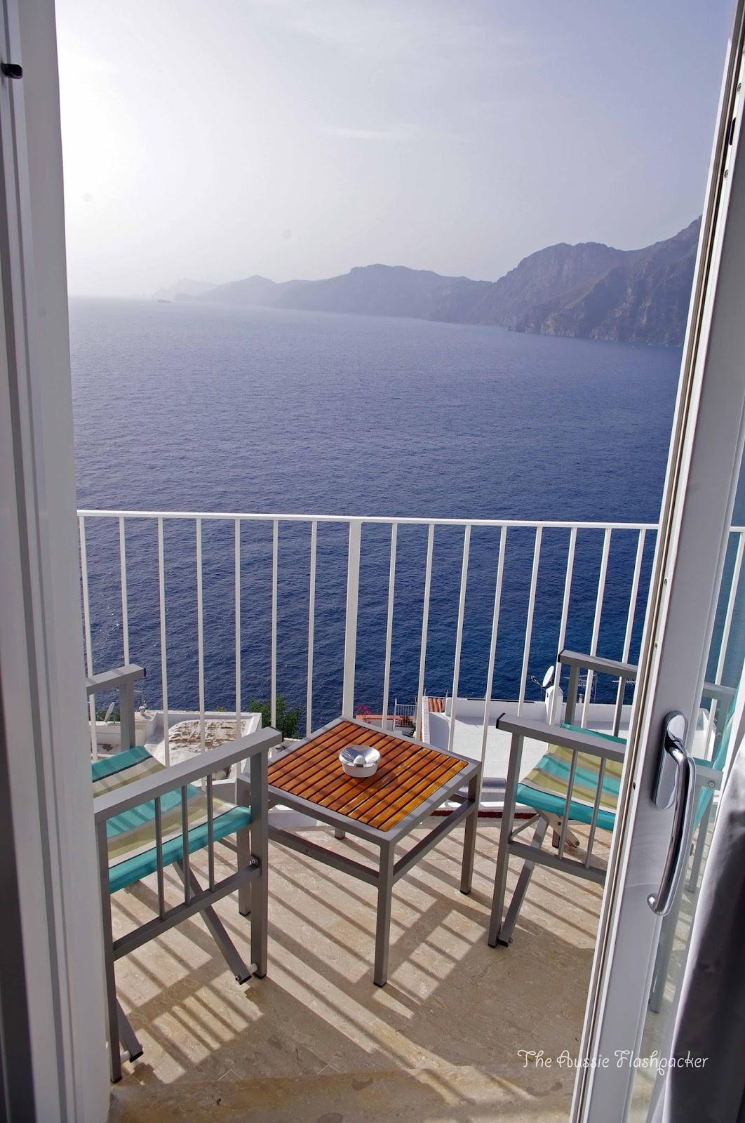 Casa Angelina Praiano Luxury Hotel View