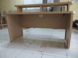 Broadcast Workstation Table - Meja Siaran Radio - Furniture Semarang