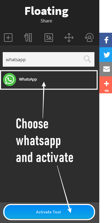 Adding-whatsapp-in-the-list