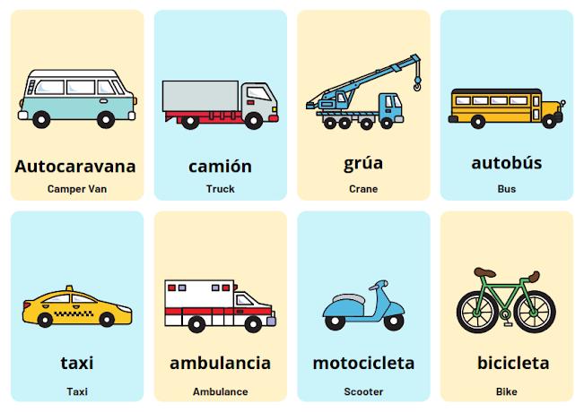 Spanish transportation phrases