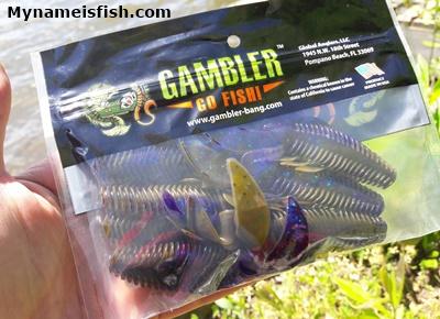 Gambler Stinger Craw Bait Killer G Flipping Bait
