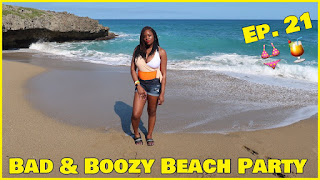 Brandi's Life Episode 21: Beach Party in Dominican Republic| PrettyPRChickTV