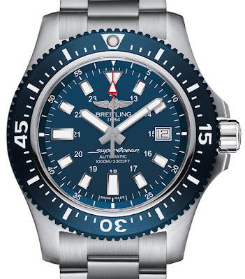 Breitling Superocean 44 Special Black or Blue Dial Watch Replica