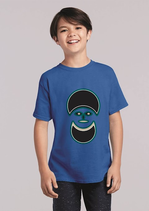 T-shirt design is baby 105
