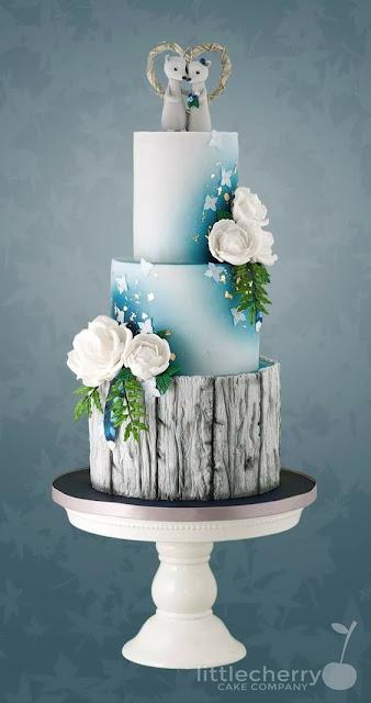 bánh sinh nhật theo tạo hình thiên nhiên