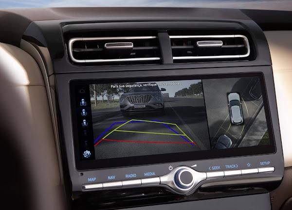 Novo Hyundai Creta 2022 - Câmera de ré