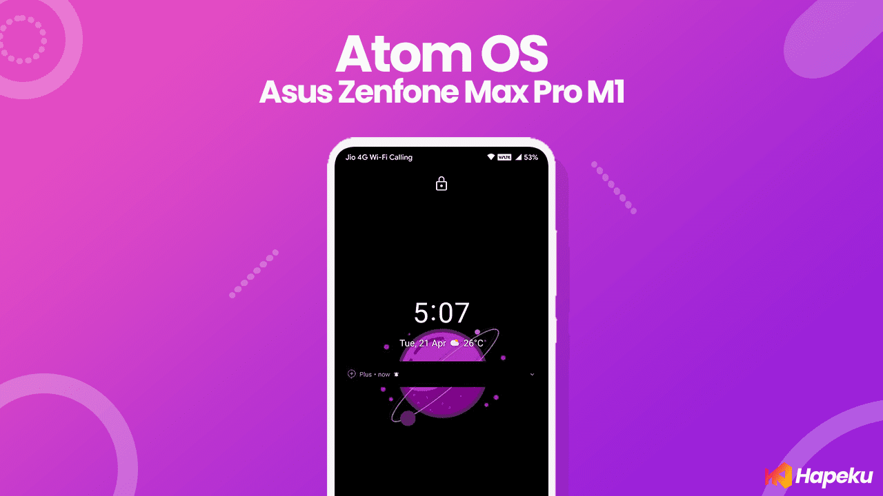 ROM Atom OS Official Asus Zenfone Max Pro M1 [X00TD]
