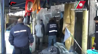 Photos: Italian police arrest fisherman for throwing African migrant worker, who couldn