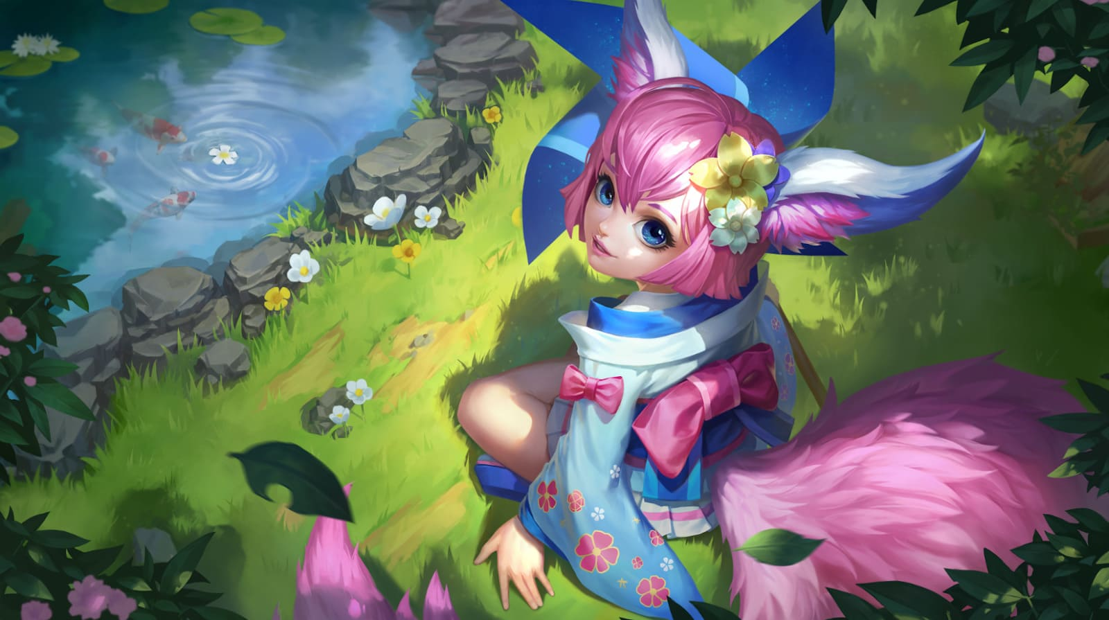 Wallpaper Nana Wind Fairy Skin Mobile Legends HD for PC