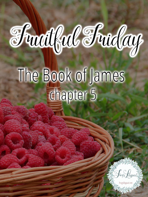 Simple Thoughts Without Theology: James 5 - Frog's Lilypad