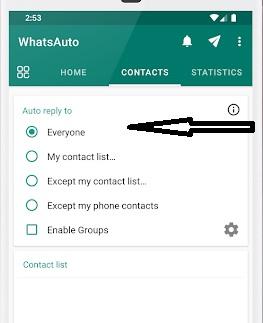 message, किसको जायेगा, app