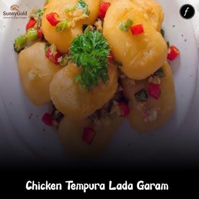 Chicken Tempura Lada Garam